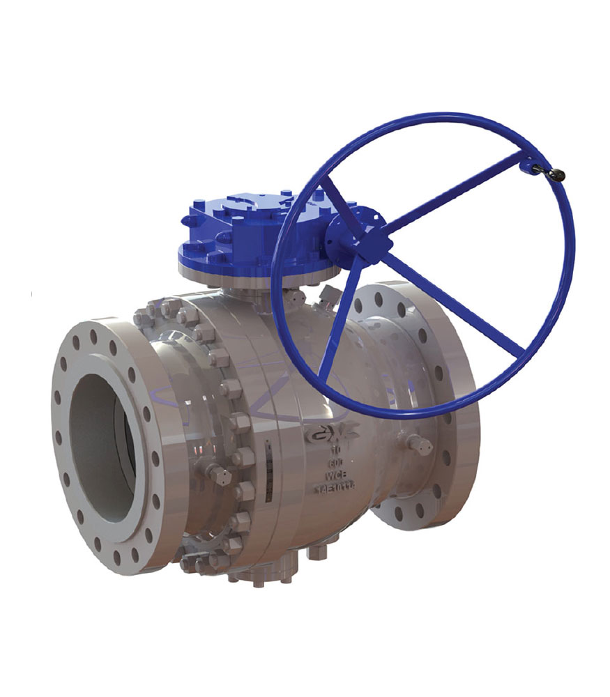 Cast Body TRUNNION Mounted Ball Valves